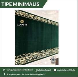 Siap Karpet Masjid Model Minimalis Gratis Bonus
