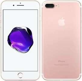 IPhone 7 plus,128 gb memory,Rose gold color.