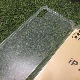 Softcase anticrack iphone x