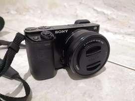 Sony A6000 kit banyak bonus mulusss