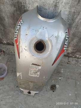 Fuel tank of bike C D deluxe