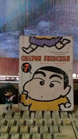 komik crayon shinchan vol 1 edisi tahun 2000