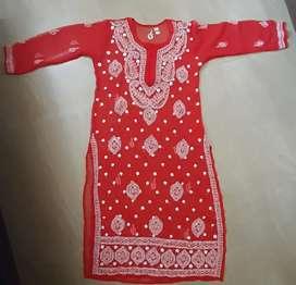 New Lucknowi Kurtis for Women Chikankari
