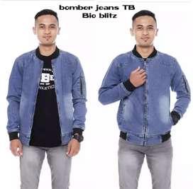 Jaket  bomber jeans/denim/levis