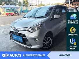 [OLX Autos] Toyota Calya 1.2 G Bensin 2017 MT Silver #MJ Motor