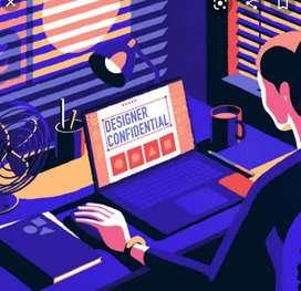 Office staff  & graphic designer (ladies only)