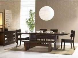 Sheesham made Italian style dining table set on 45% discount (limited)