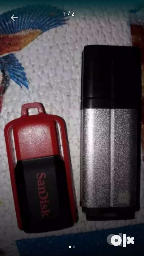 SanDisk and iball 4gb pendrives 0
