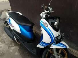 Yamaha Fino tahun 2013 surat komplit pajak hidup plat dki selatan
