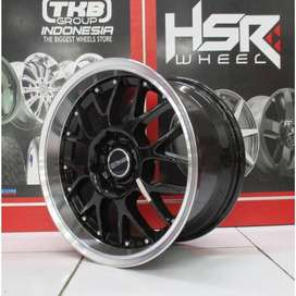 Velg Mobil Kia Rio Ring 17 Racing HSR Bisa Kredit Cicilan 0%