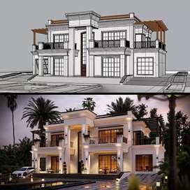 Menerima Jasa Design 3 D ( Renovasi dan Bangun Baru )