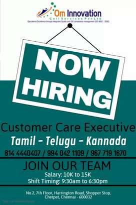 Customercare executive