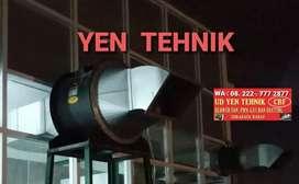 Cerobong ducting + axial direct fan