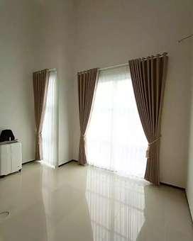 Minimalis Vitrase Gordeng Hordeng Gorden Curtain Gordyn Korden 698
