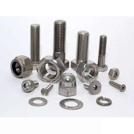 SS Nuts Bolts Washer Sheets
