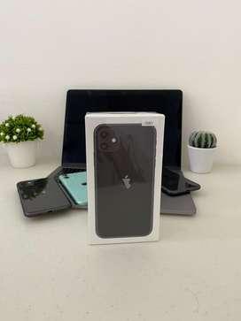 New Iphone 11 256gb resmi ibox murah