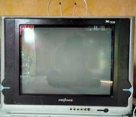 TV advance 21 inc layar datar .