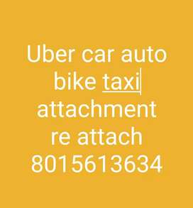 Uber car auto bike taxi attachment