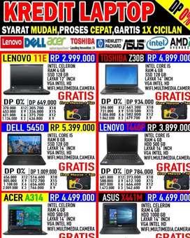 Promo kredit all type laptop syarat mudah prosea cepat angsuran murah