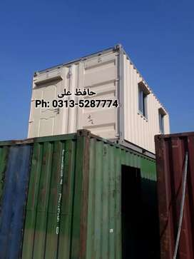 Empty & office container prefab house porta cabin guard room toilet