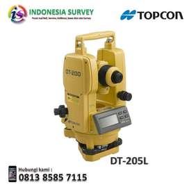 Jual Digital Theodolite Topcon DT-205L