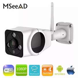 Metal Body WIFI Wireless IP Camera outdoor waterproop 2 Megapixel v380