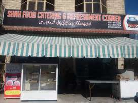 Food and Refreshment centre for urgent sale