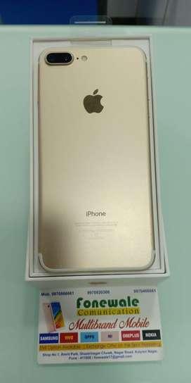 iPhone 7 plus 128GB Gold good condition 100%
