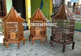 COD kandang kayu jati asli untuk ayam dan be0