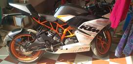 RC 390 both new  tyre In Mint condition