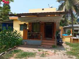 2 BHK House for rent- Kadekar- Vegetarians Only