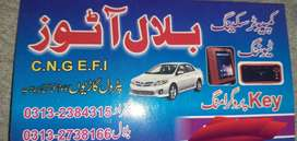 All hybrid and EFI mechanic & remote and sensor key maker available
