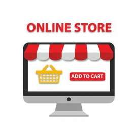 web designer & Advertise or Sale our products online