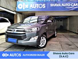 [OLXAutos] Toyota Kijang Innova 2019 G 2.0 Bensin Abu - Abu #Shava