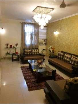 4 bhk fully furnished society flat Dwarka delhi