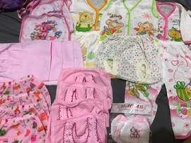Paket lengkap baju bayi
