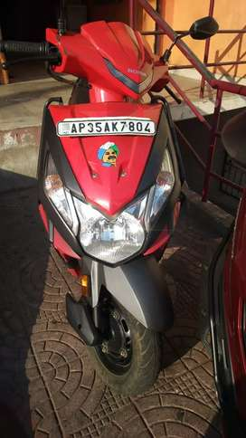 Black and Red Limited Edition Honda Dio for sale