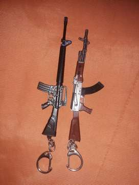 Beautiful Gun Key chanis AK-47 & MM64 for sale at 30٪ discounted price