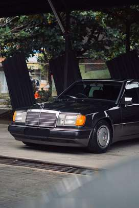 Mercedes Benz BOXER W124 300E TWOTONE manual 1989