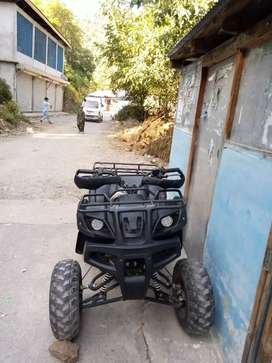 250 cc bike just like new full auto all control in hands
