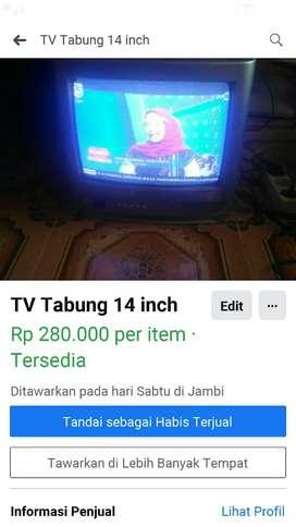 Tv panasonic 14 inch