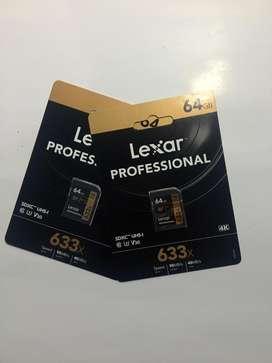 HARGA SPESIAL SD CARD LEXAR 64 GB