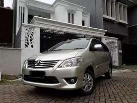 Toyota kijang innova 2.5 g diesel solar 2013 tgn 1 service resmi