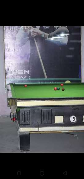 snooker table 6/12 full size rate fix