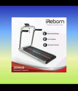 Alat fitnes treadmill elektrik murah mewah ireborn