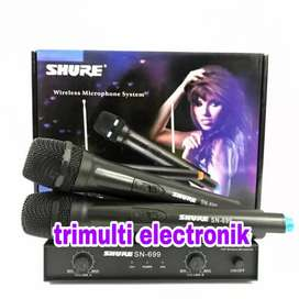 Microphone Wireless SHURE SN 699 Mic tanpa kabel SN 699 New