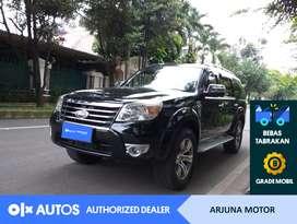 [OLXAutos] Ford Everest 2011 2.5 XLT Solar A/T Hitam #Arjuna Motor