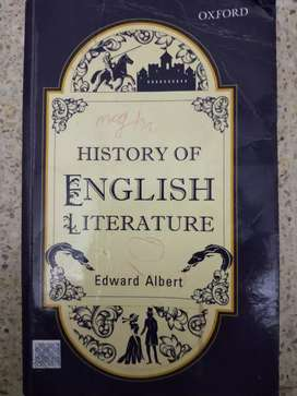 History of english litrature