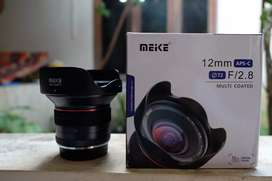 Lensa meike 12mm f2.8 mount fuji