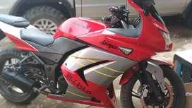 Dijual Ninja Kawasaki 250cc thn 2009